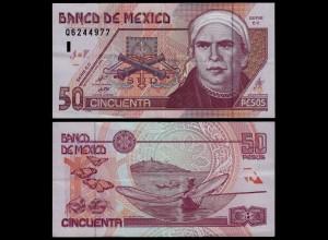 MEXIKO - MEXICO - 50 Peso 2002 Serie EC Pick 117b VF (3) (21233
