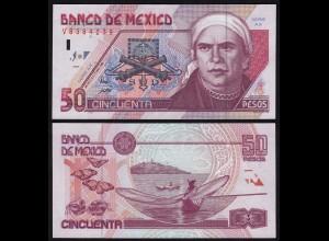 MEXIKO - MEXICO - 50 Peso 2002 Serie AX Pick 107c XF (2) (21237