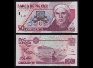 MEXIKO - MEXICO - 50 Peso 2000 Serie CJ Pick 117a VF (3) (21238