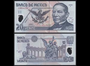 MEXIKO - MEXICO - 20 Peso 2005 Serie X Pick 116e UNC (1) (21242