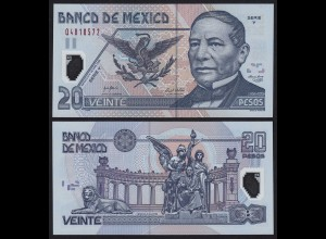 MEXIKO - MEXICO - 20 Peso 2006 Serie Y Pick 116f UNC (1) (21243