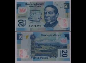 MEXIKO - MEXICO - 20 Peso 2006 Polymer Pick 122b UNC (1) (21246
