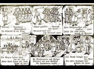 AK die Geschichte vom Hauptmann von Köpenik (1508