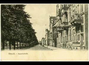 AK Rheydt Mönchen-Gladbach Augustastrasse 1908 (2553