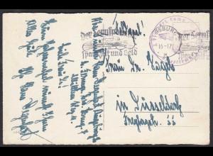 Feldpost WW2 1940 Feld - Heimat Neujahrsgrüße (27301