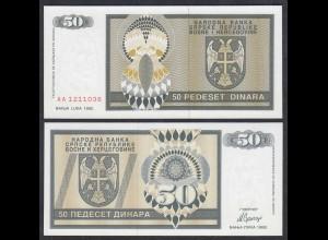Bosnien Herzegowina - 500 Dinara 1992 Pick 134a UNC (1) (27291