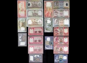 Nepal - 10 Stück versch. Banknoten bzw. Signaturen UNC (1) (14313