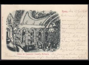 AK ITALY Roma 1900 Chiesa dei Cappuccini-Cappella Mortuaria (27417