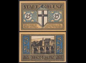 Coblenz = Koblenz 25 Pfennig Notgeld 1921 UNC (1) (26433