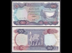 Irak - Iraq 10 Dinar Banknote 1973 Pick 65 sig.18 AU (1-) (27495