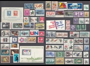 USA postfrisch tolles Lot postfrisch MNH Verschiedene Marken (27619