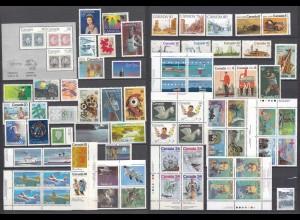 Kanada - Canada postfrisch tolles Lot meist nur versch. Briefmarken (27629