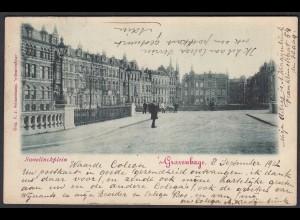 AK Niederlande NEDERLAND S`Gravenhage Sweelinckplein 1902 (27684