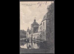 AK Schloss Stapel Eingangstor bei Havixbeck bei Coesfeld Münster 1913 (65001