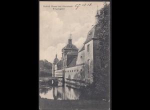 AK Schloss Stapel Eingangstor bei Havixbeck bei Coesfeld Münster 1913 (65002
