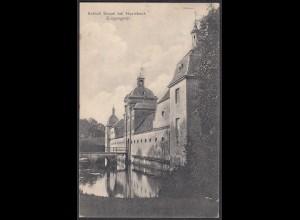 AK Schloss Stapel Eingangstor bei Havixbeck bei Coesfeld Münster 1912 (65004