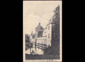 AK Schloss Stapel Eingangstor bei Havixbeck bei Coesfeld Münster 1918 (65008