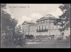 AK Schloss Stapel Front bei Havixbeck bei Coesfeld Münster (65010