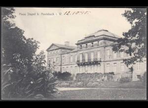 AK Schloss Stapel Front bei Havixbeck bei Coesfeld Münster 1910 (65013