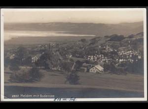 AK Schweiz 1935 Heiden mit Bodensee Gesamtansicht (65067