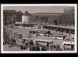 AK Hamburg ZOB Zentralomnibusbahnhof 1963 (65070
