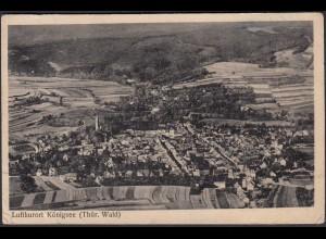 AK Königsee Thüringen 1950 Gesamtübersicht (65072