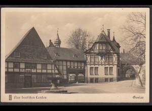 AK Goslar Aus deutschen Landen Der Frankenberger Plan (65078