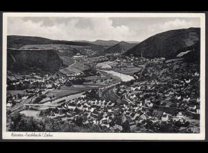 AK Nievern-Fachbach Lahn 1955 Gesamtübersicht (65079