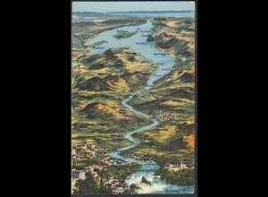 AK Rheinfall Bodensee Schlosschen Wörth Schaffhausen (65082