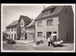 AK Gaststätte Lorscheid Stempel St.Katharinen über Linz Rhein 1956 (65084