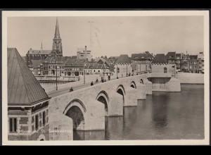 AK Niederlande Maastricht St.Servaasbrug 1956 (65096