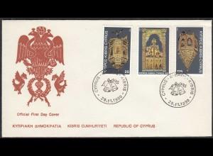 Zypern - Cyprus 1980 FDC Weihnachten Christmes (65151