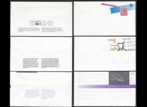 Kanada - Canada 3 Stück Ganzsachen Umschläge Postal Stationery (65232