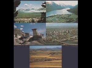 Kanada - Canada 5 Stück diff.Pre-stamped Postcards Postal Stationery (65238