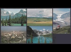 Kanada - Canada 5 Stück diff.Pre-stamped Postcards Postal Stationery (65240