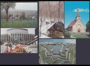 Kanada - Canada 5 Stück diff.Pre-stamped Postcards Postal Stationery (65243