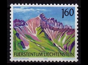 Liechtenstein Freimarke Berge 1992 Mi. 1038 ** (c048