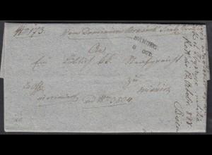Österreich - Austria 1838 Haus Habsburg Galizien Brief aus SANDEC L2 m.Inhalt