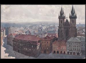 Polen - Poland AK PRAG Teinkirche und Altstädter Ring (27888