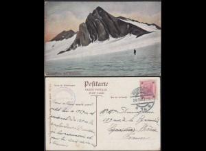 Österreich - Austria AK 1907 Scesaplans mit Gletscher Douglasshütte (65323