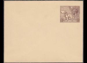 Great Britain - 1.1/2 d Wembley ENVELOPES LETTER 1924 MINT (65326