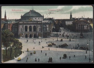 AK Dänemark - Denmark 1917 Kopenhagen Kongens Nytorv (65365