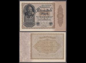 1000 Mark 1922 FZ: B BZ: 45 Ro. 81b UNC (1) (27898