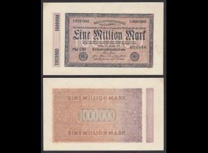 1 Million Mark 1923 Ro 93 Pick 93 aUNC (1-) FZ: DB Serie Ma Kölner Provisorium