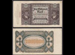 2 Millionen Mark 1923 Ro 89a Pick 89 VF (3) FZ: E - BZ: Va (27925