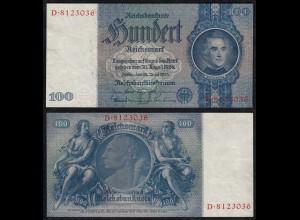 100 Mark 1935 Ro 176a Pick 183 D/D aUNC (1-) (27952