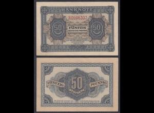DDR 50 Pfennig 1948/51 Ro 339d XF (2) Serie R 7-stellig (28077
