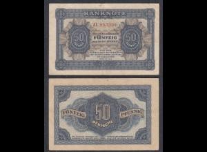 DDR 50 Pfennig 1948 Ro 339b F/VF (3/4) Serie AI (28078