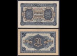 DDR 50 Pfennig 1948 Ro 339b XF+ (2+) Serie FB (28079