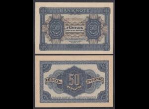 DDR 50 Pfennig 1948 Ro 339b aUNC (1-) Serie AM (28080